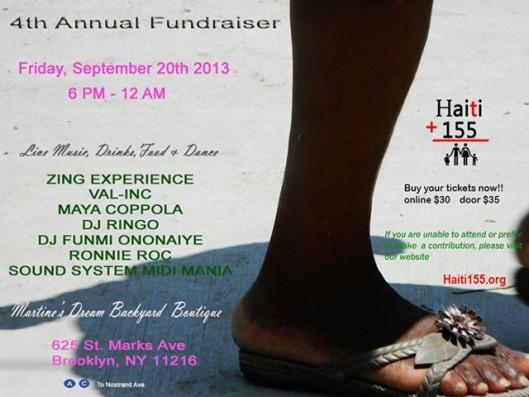 Haiti 155 fundraiser
