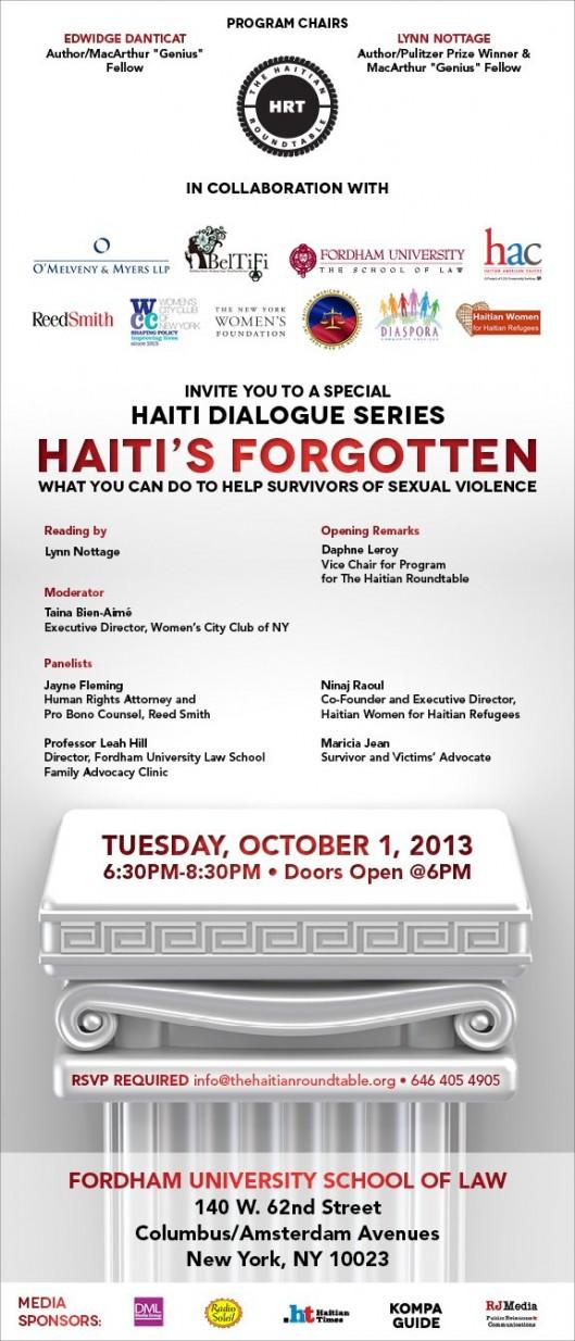 Haitis Forgotten Flyer