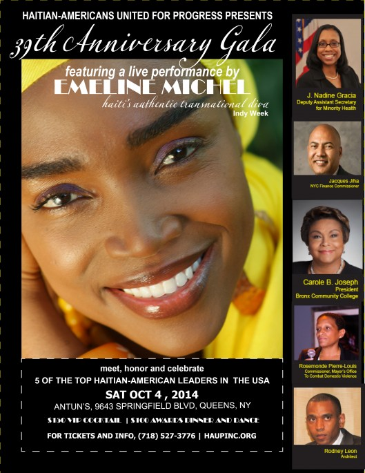 October 4th : HAUP Presents | 39th Anniversary Gala Featuring a live