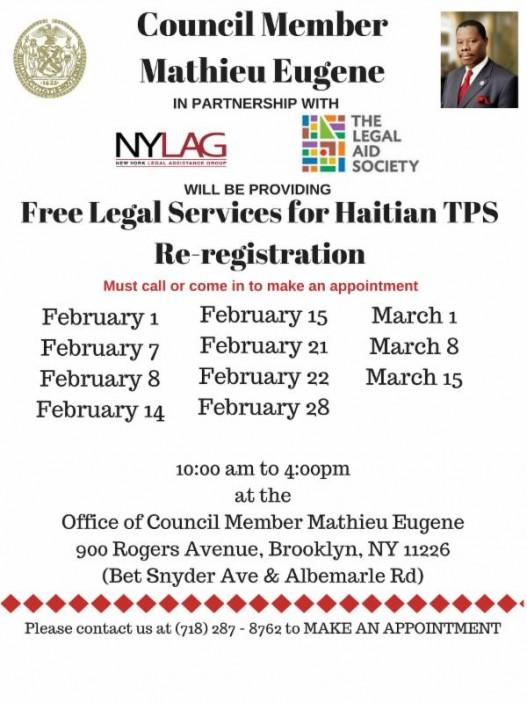 TPS Haiti 2018 Flyer