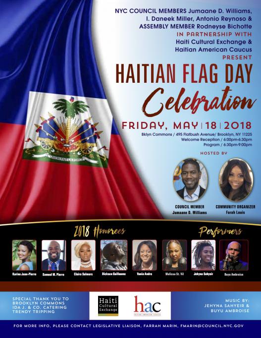 Haitian Flag Day 2018