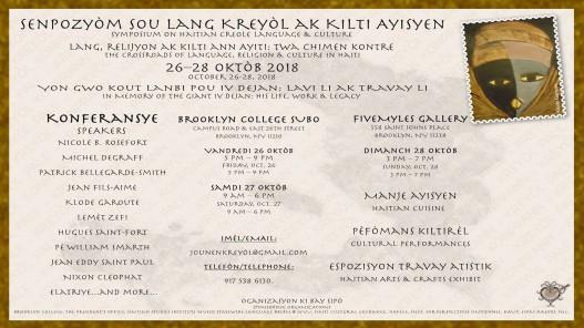 Symposium on creole